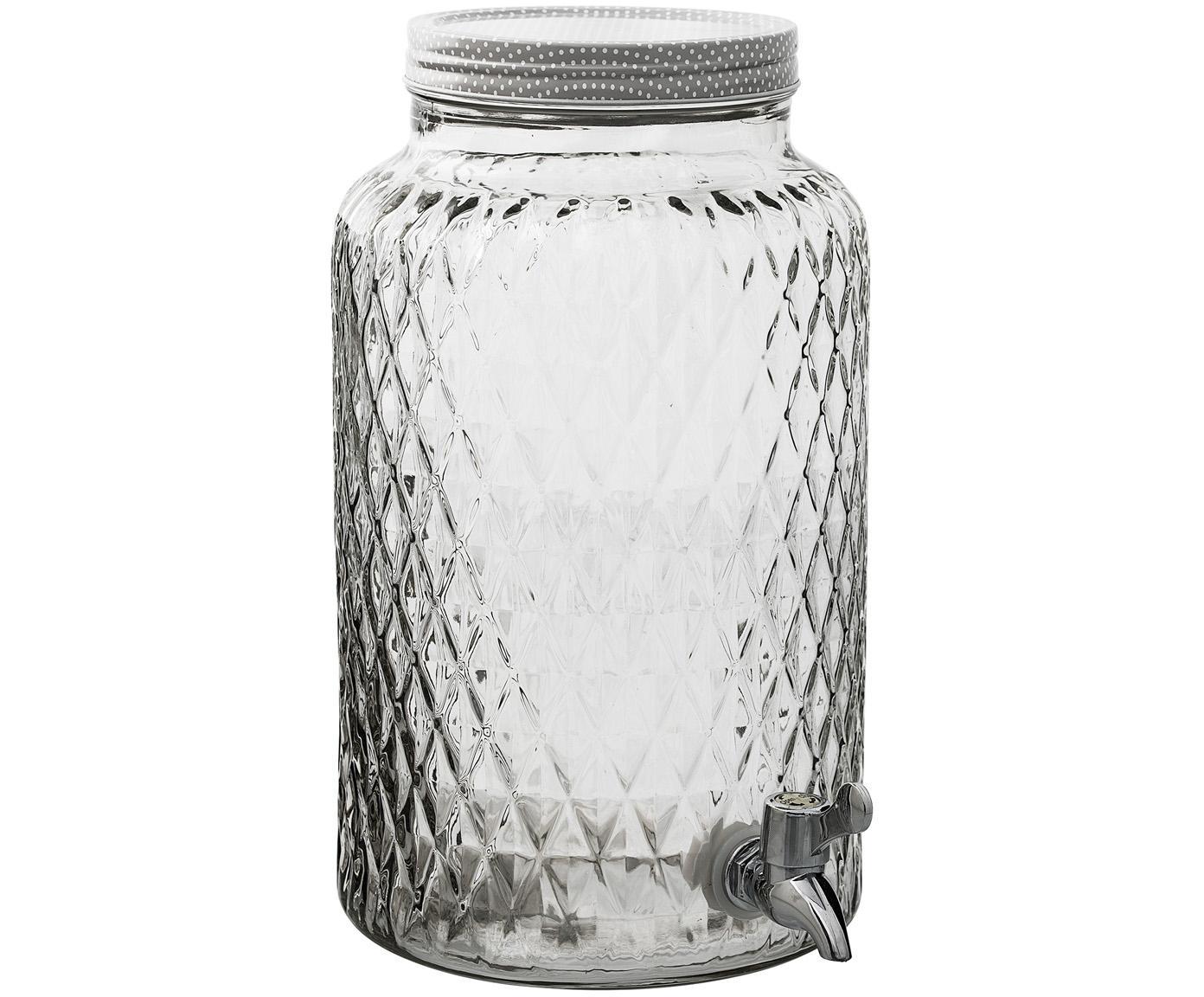 Getränkespender Selma, Behälter: Glas, Transparent, Ø 18 x H 30 cm