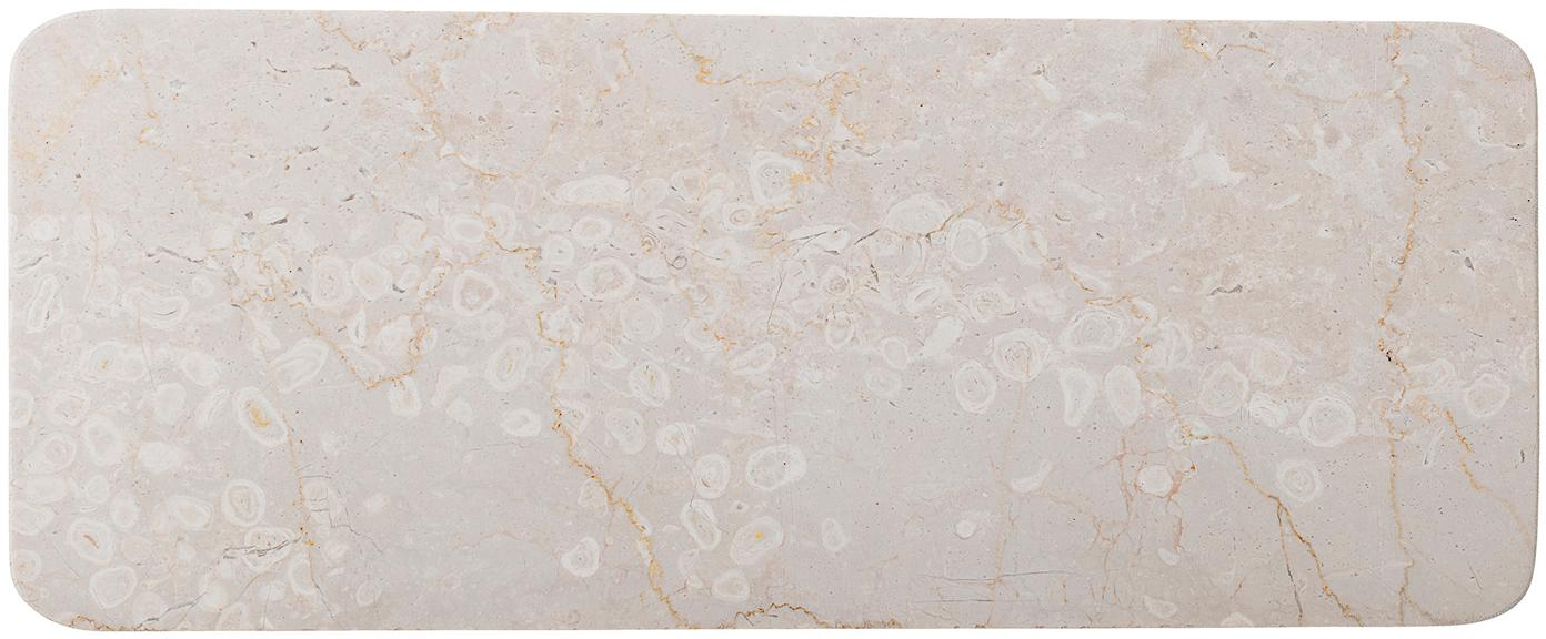 Półmisek z marmuru Maya, Marmur, Beżowy, D 38 x W 3 cm