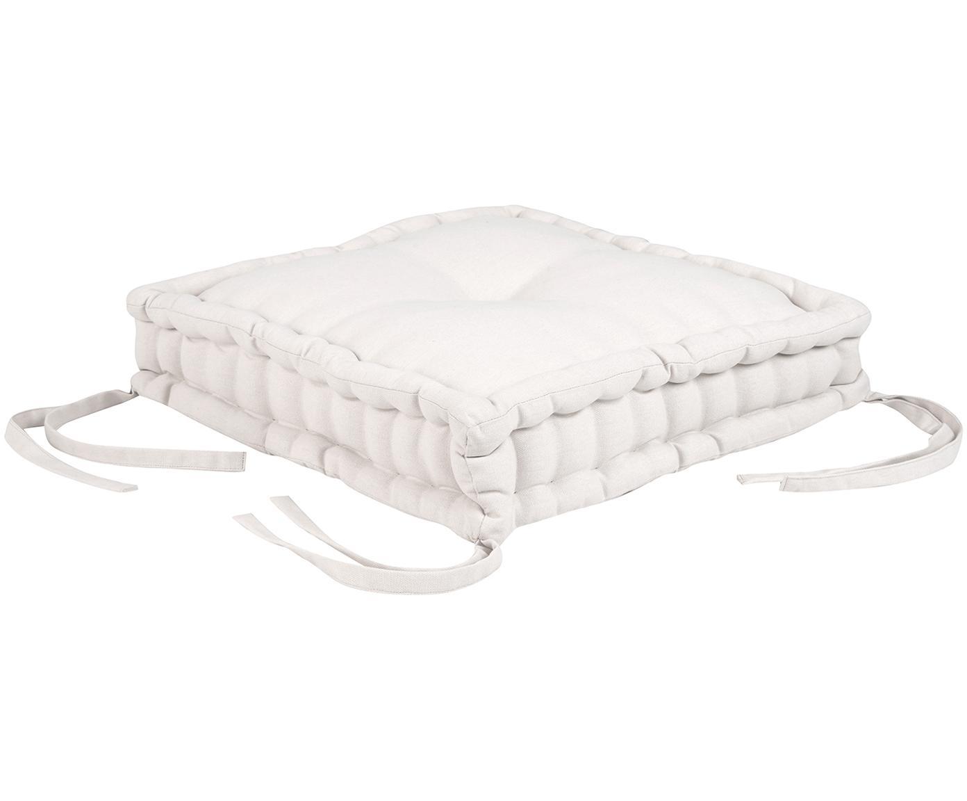 Poduszka na siedzisko Kiara, Beżowy, S 45 x D 45 cm