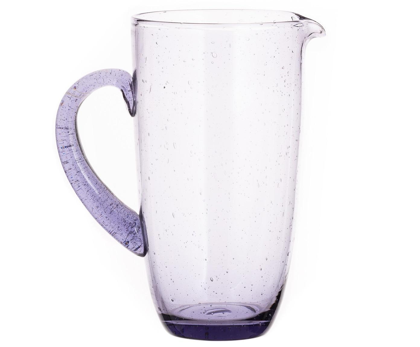 Karaf Victor, Glas, Licht lavendelkleurig, 1.1 L