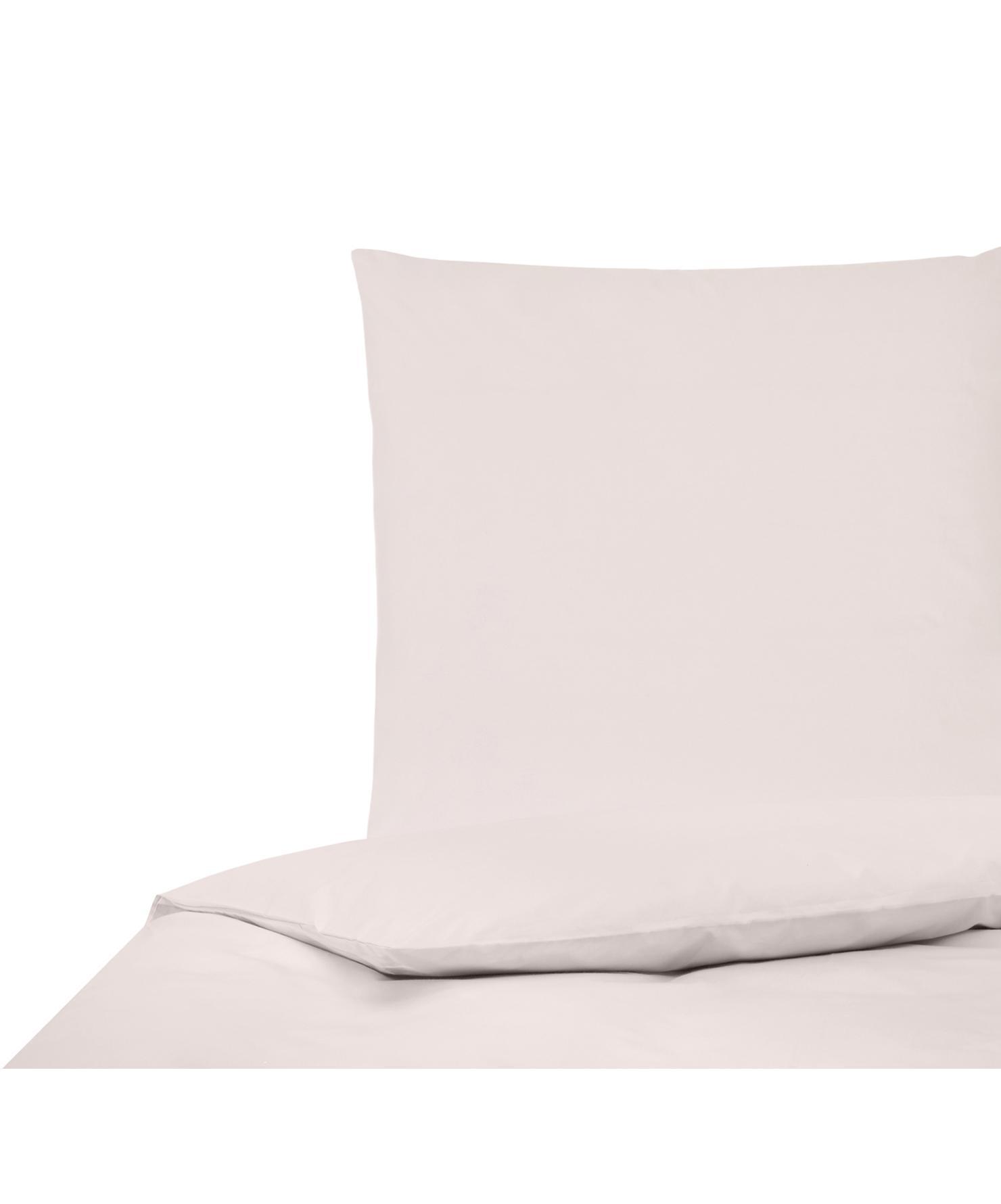 Parure copripiumino in percalle Elsie, Tessuto: percalle Densità del filo, Rosa, 155 x 200 cm