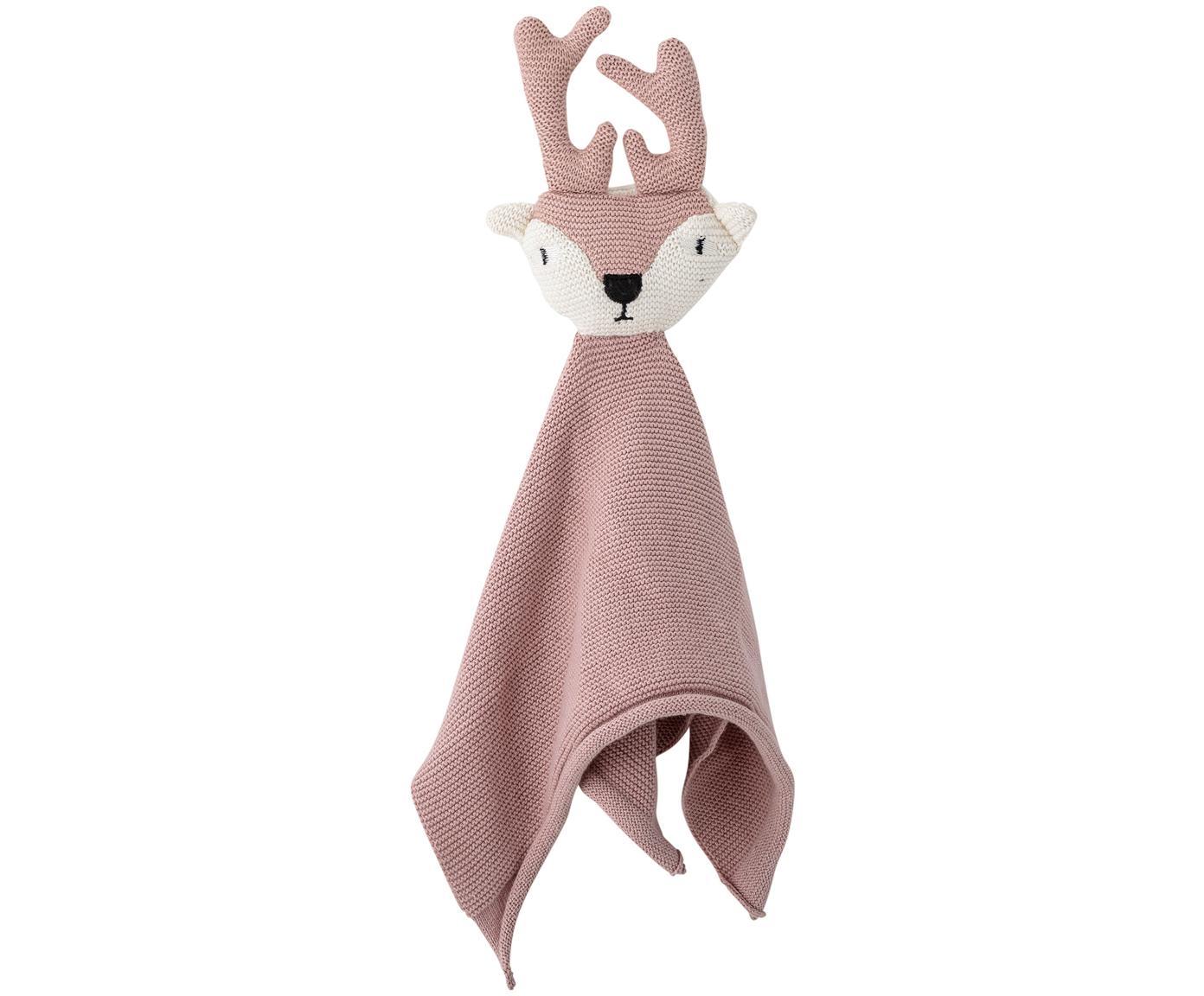 Doudou Deer, Tapizado: algodón, certificado Oeko, Rosa, An 30 x L 36 cm