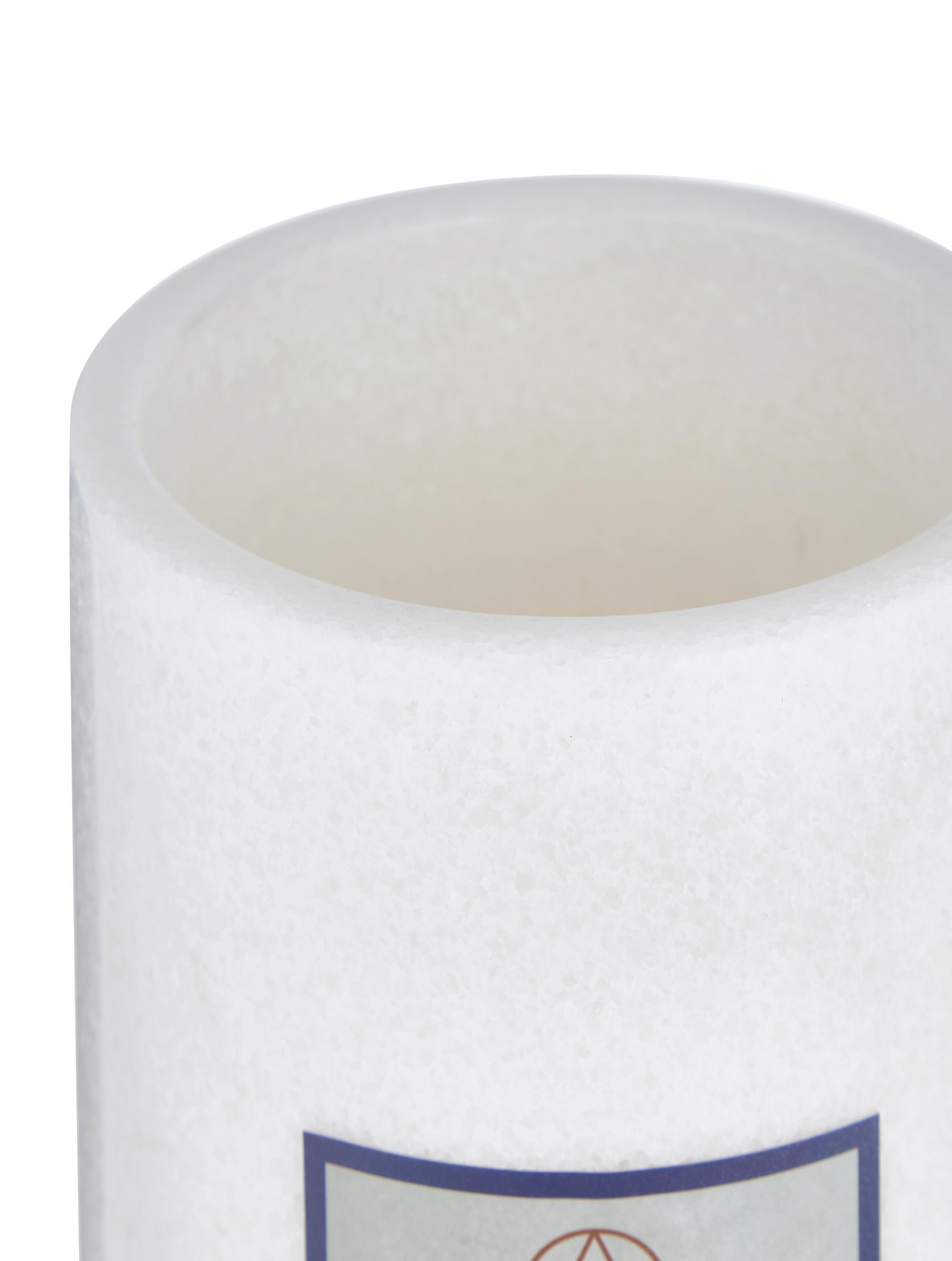Marmor-Flaschenkühler Charlie, Marmor, Weiss, marmoriert, Ø 12 x H 19 cm