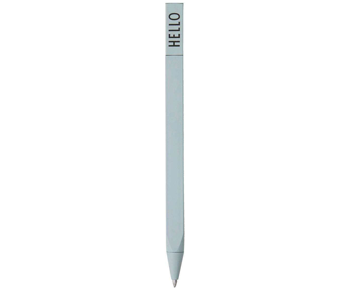 Penna a sfera Twist, 2 pz., Verde, L 15 cm