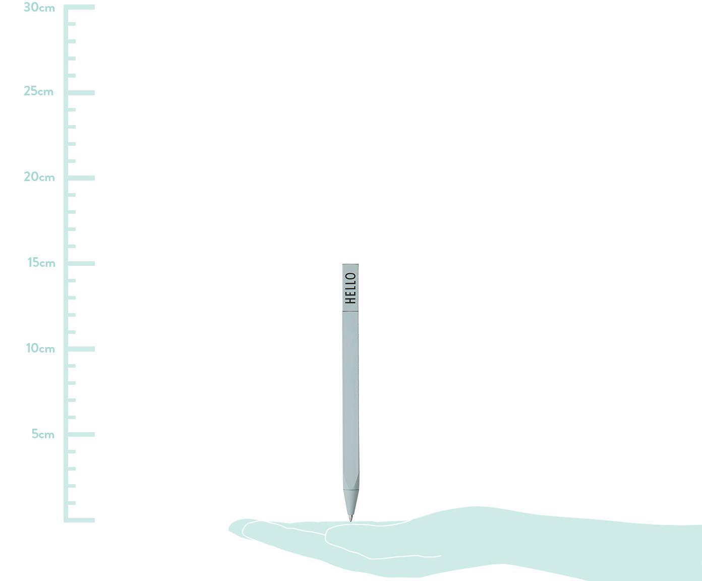 Kugelschreiber Twist, 2 Stück, Grün, L 15 cm
