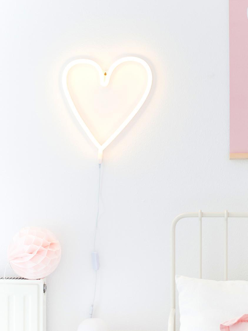 Applique a LED con spina Adri, Colore chiaro: giallo In stato off la luce del LED è bianca, Larg. 30 x Alt. 29 cm