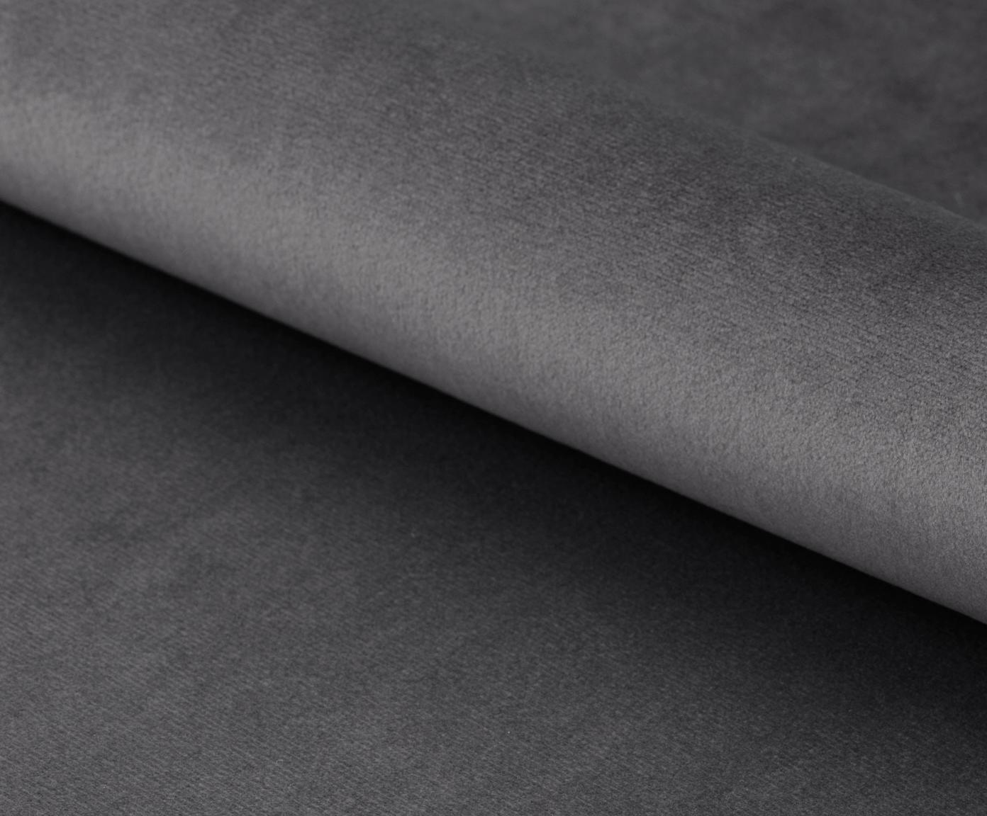 Poltrona da cocktail in velluto Center, Rivestimento: velluto di poliestere 25., Struttura: metallo verniciato a polv, Velluto grigio scuro, Larg. 82 x Prof. 71 cm