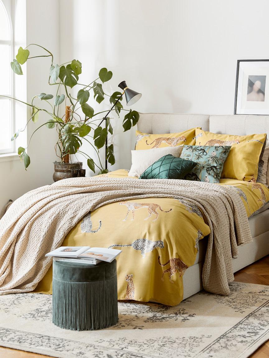 Samt-Kissenhülle Nobless mit erhabenem Rautenmuster, 100% Polyestersamt, Grün, 50 x 50 cm