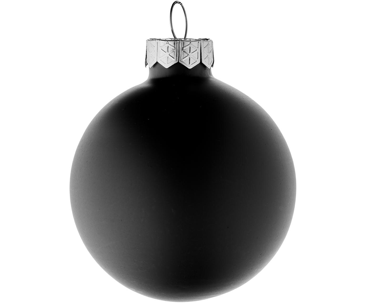 Weihnachtskugel-Set EvergreenØ6cm, 10-tlg., Schwarz, Ø 6 cm