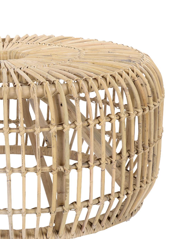 Mesa de centro redonda de ratánKim, Ratán natural, Ratán, Ø 80 x Al 35 cm
