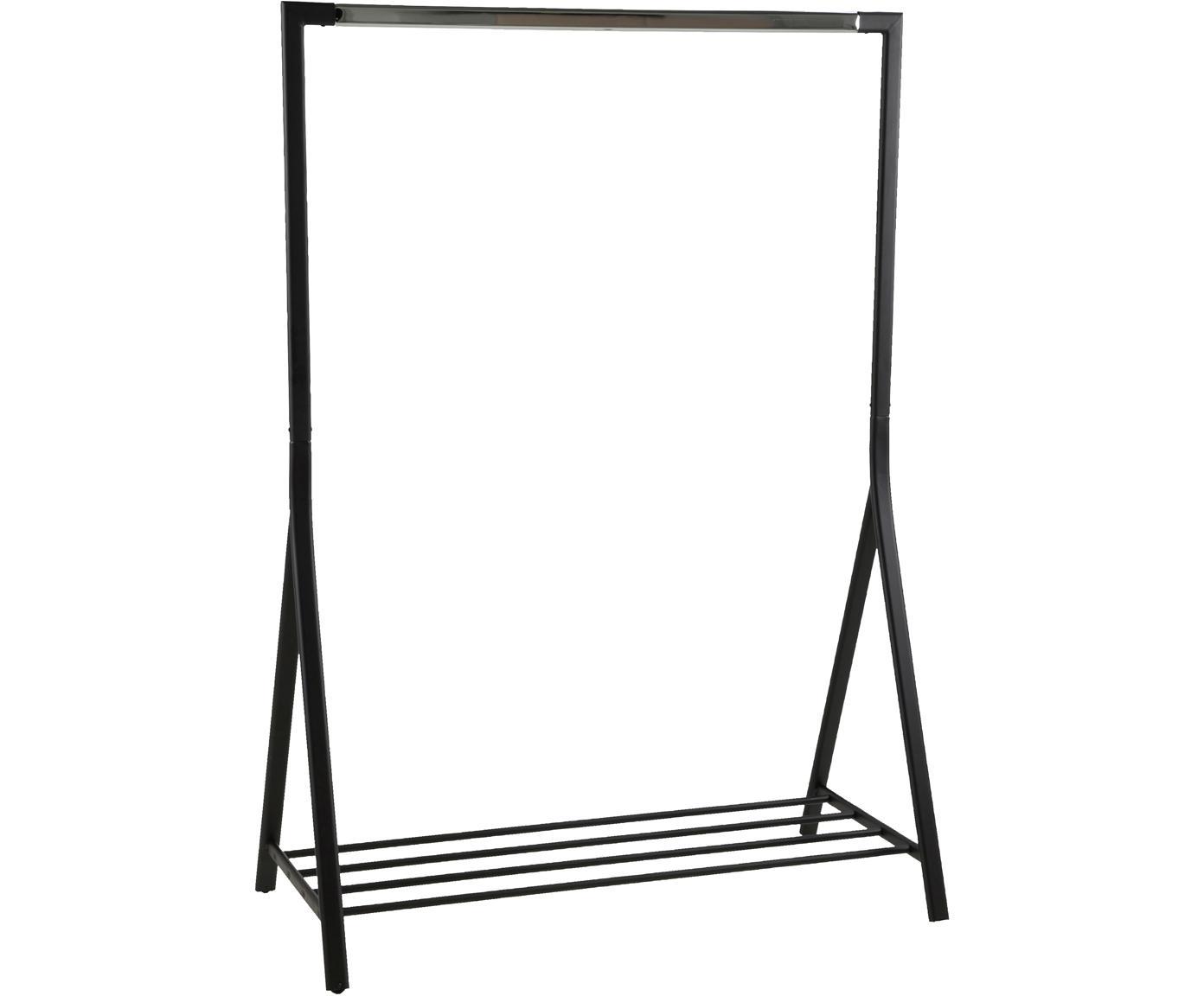 Burro de metal Brent, Metal con pintura en polvo, Negro, An 117 x F 59 cm
