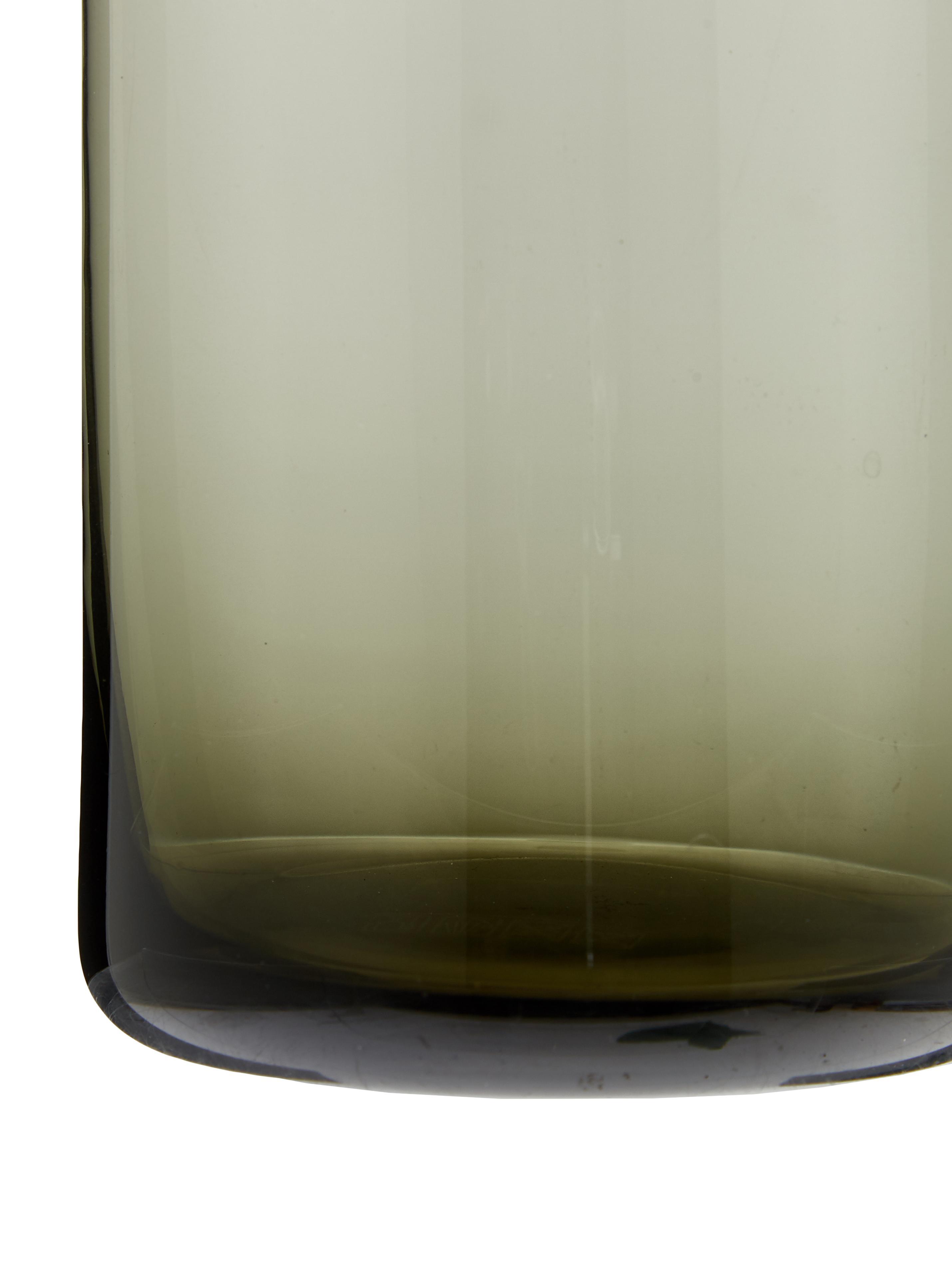 Karaffe Clearance in Grau transparent, Deckel: Kork, Grau, transparent, 1 L