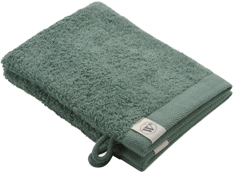 Guanto spugna da doccia/bagno Blend 2 pz, Verde, Larg. 16 x Lung. 21 cm