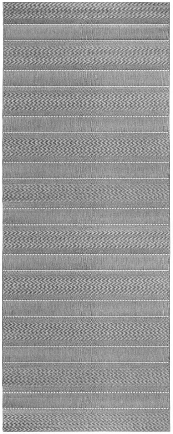 In- & Outdoor-Läufer Sunshine in Grau, Grau, Beige, 80 x 200 cm