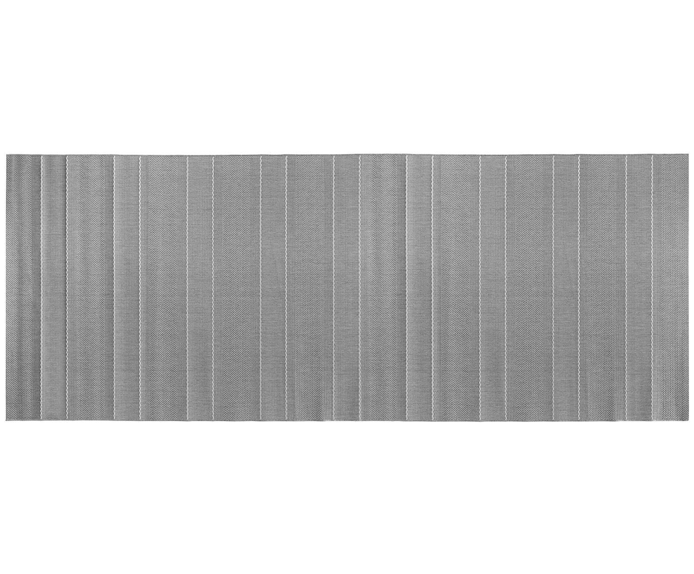 In- en outdoor loper Sunshine, Grijs, beige, 80 x 200 cm