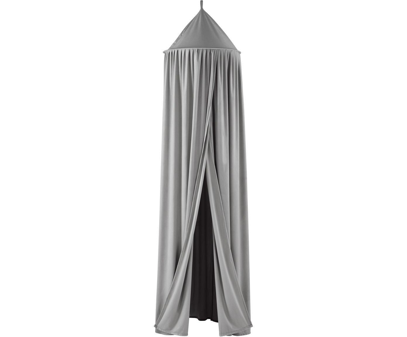 Klamboe Savannah, Polyester, Grijs, Ø 55 x H 240 cm