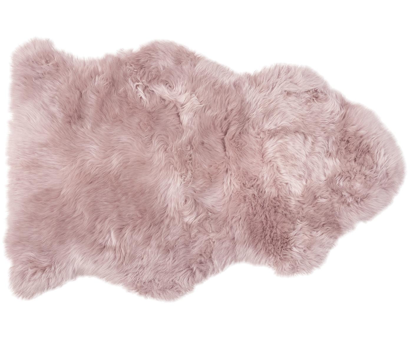 Skóra owcza Oslo, Blady różowy, S 60 x D 90 cm
