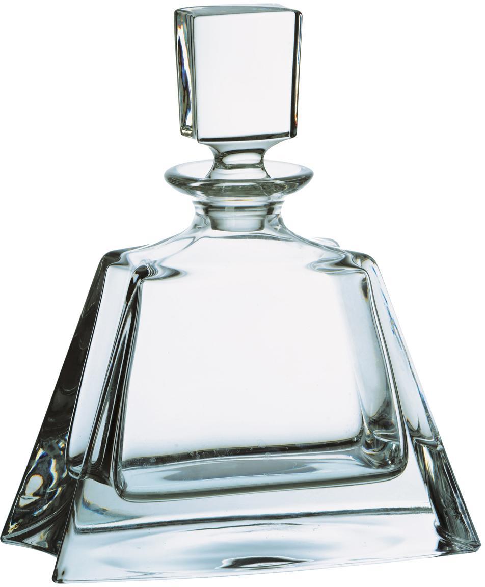 Caraffa per il whiskey Boston, Vetro, Trasparente, Alt. 22 cm
