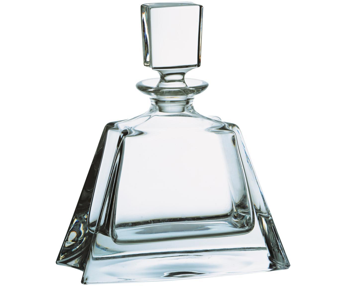 Wiskey-karaf Boston, Glas, Transparant, H 22 cm