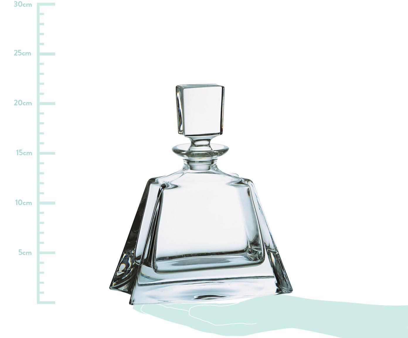 Whisky-Dekanter Boston, Glas, Transparent, H 22 cm