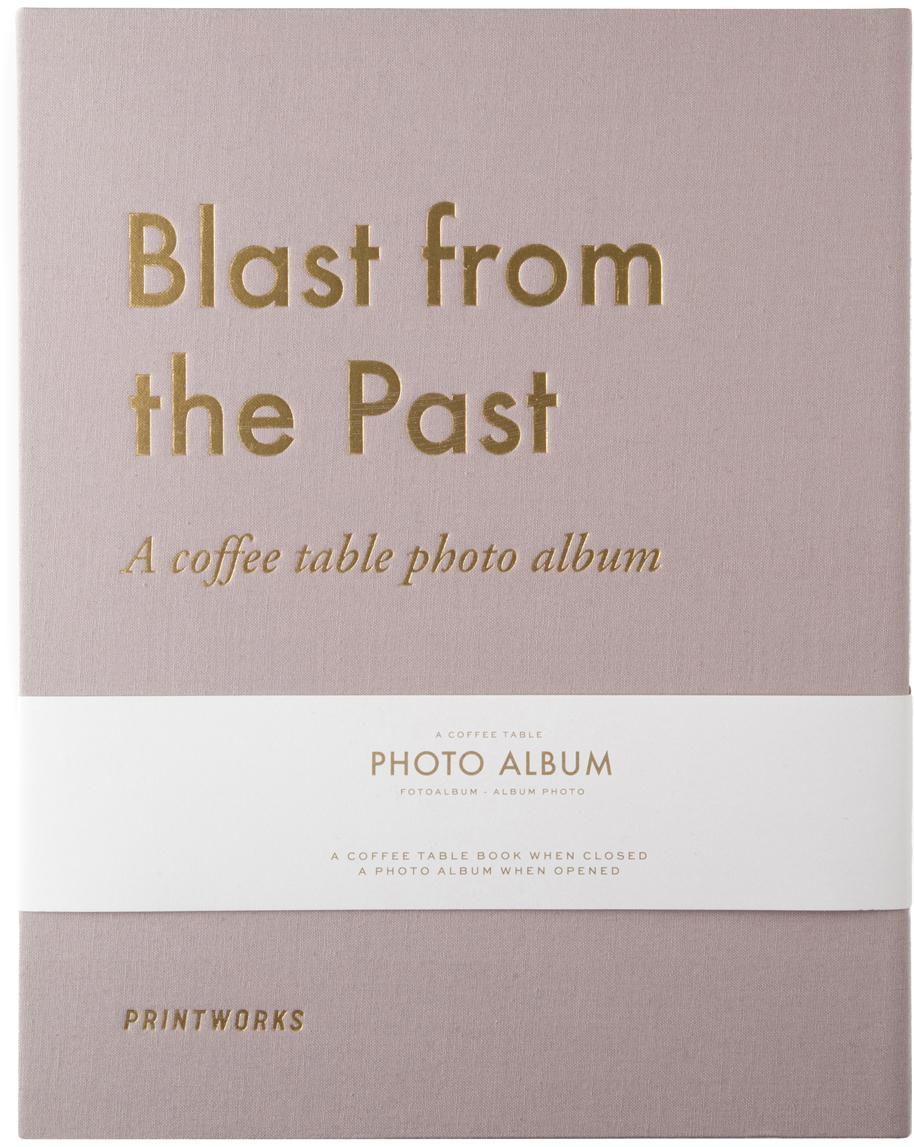 Album Blast from the Past, Taupe, odcienie złotego, D 34 x S 29 cm