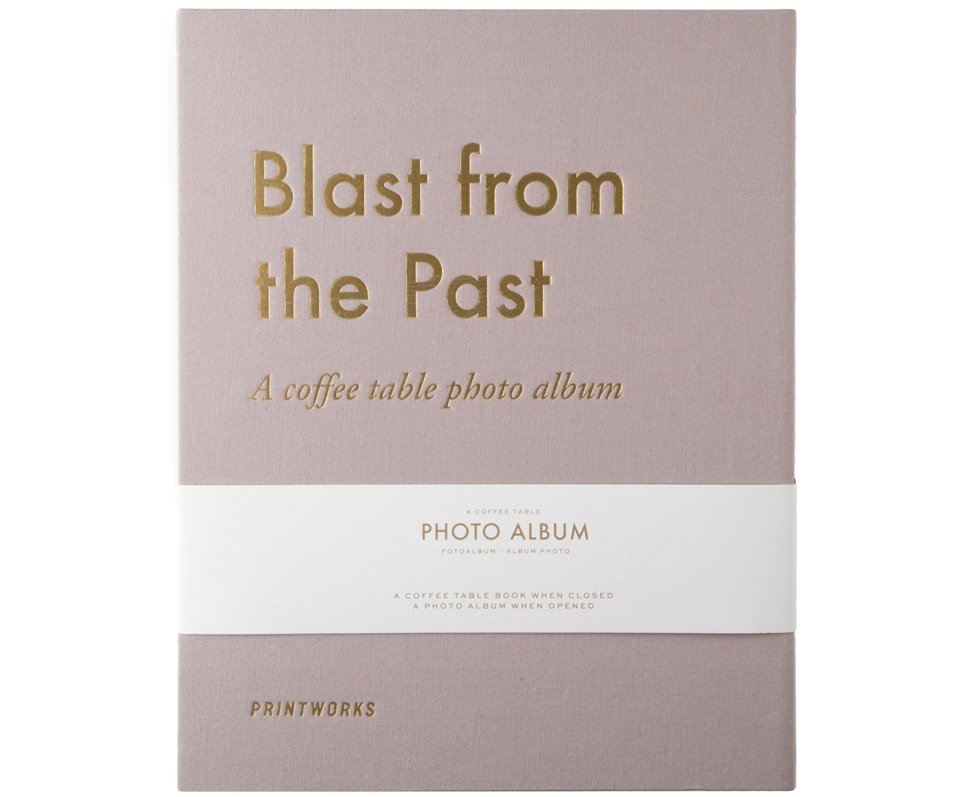 Album fotografico Blast from the Past, Taupe, dorato, L 34 x P 29 cm