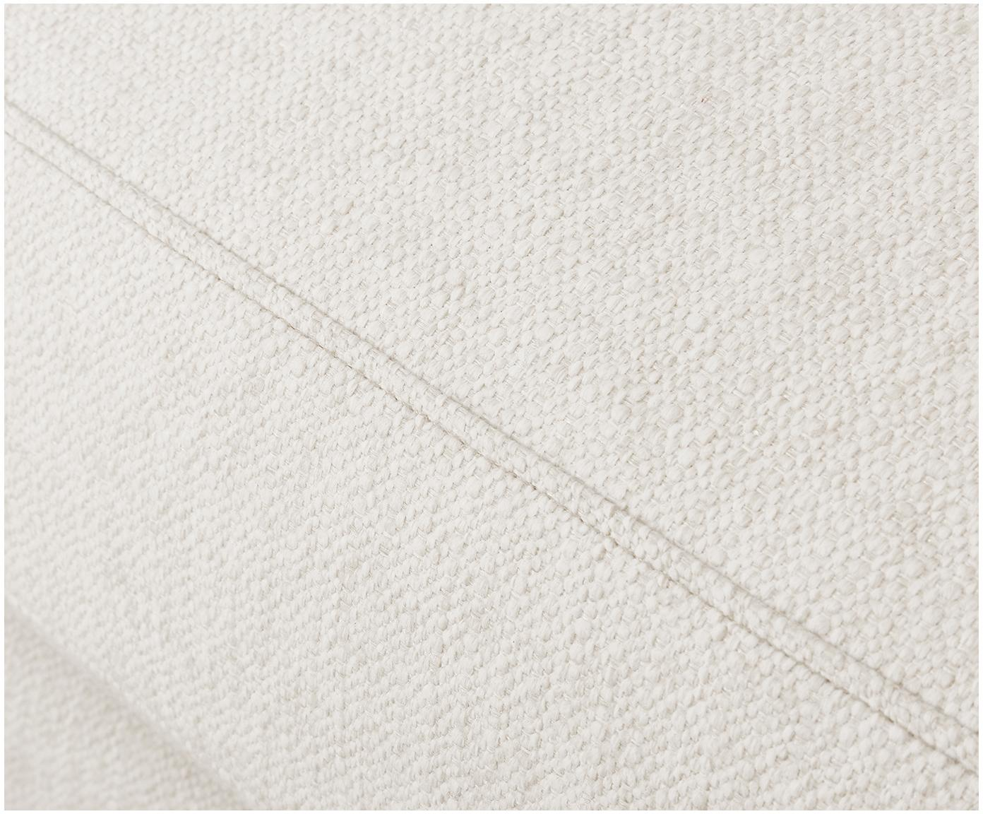 Bank Tribeca (3-zits), Bekleding: polyester, Zitvlak: schuimstof, vezelmateriaa, Frame: massief grenenhout, Poten: gelakt massief grenenhout, Beige, B 225 x D 105 cm