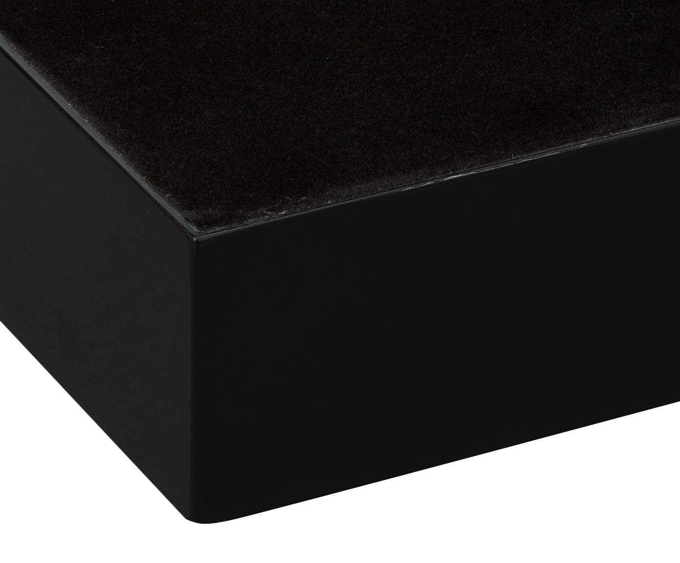 Taca Hayley, Czarny Spód: czarny, S 50 x G 35 cm