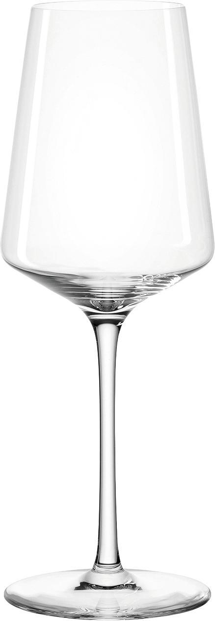 Witte wijnglazen Puccini, 6 stuks, Teqton® glas, Transparant, Ø 8 x H 23 cm