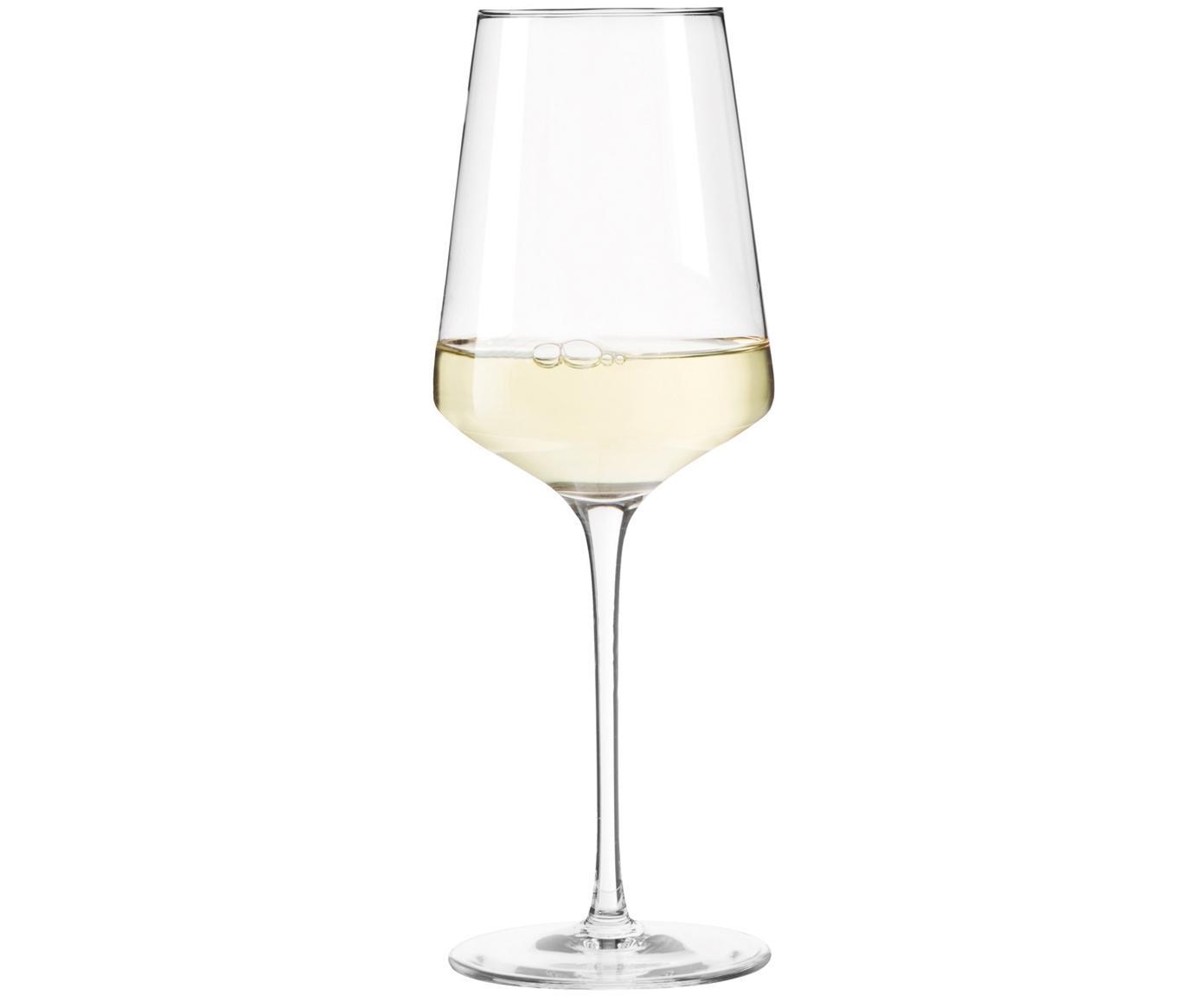 Weißweingläser Puccini, 6er-Set, Teqton®-Glas, Transparent, Ø 8 x H 23 cm