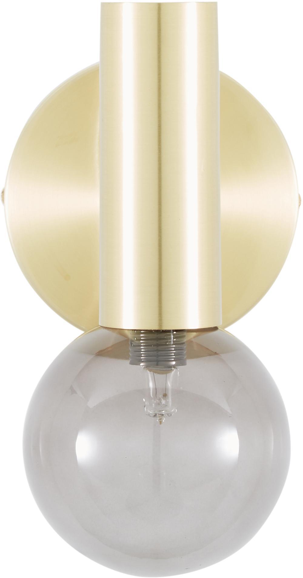 Applique LED en laiton Wilson, Laiton