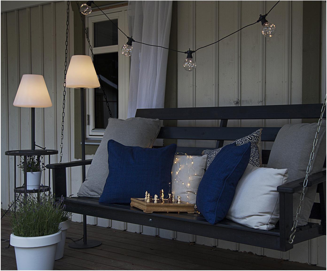 Zewnętrzna lampa LED Gardenlight, Biały, antracytowy, Ø 28 x W 150 cm