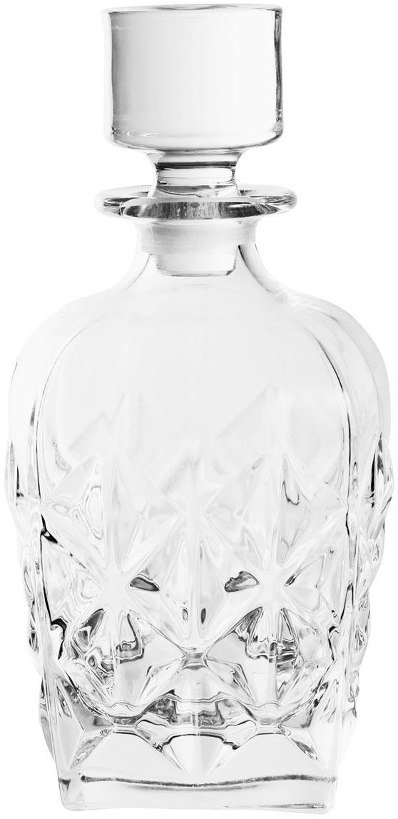 Kristall-Dekanter Fine, Kristallglas, Transparent, H 22 cm