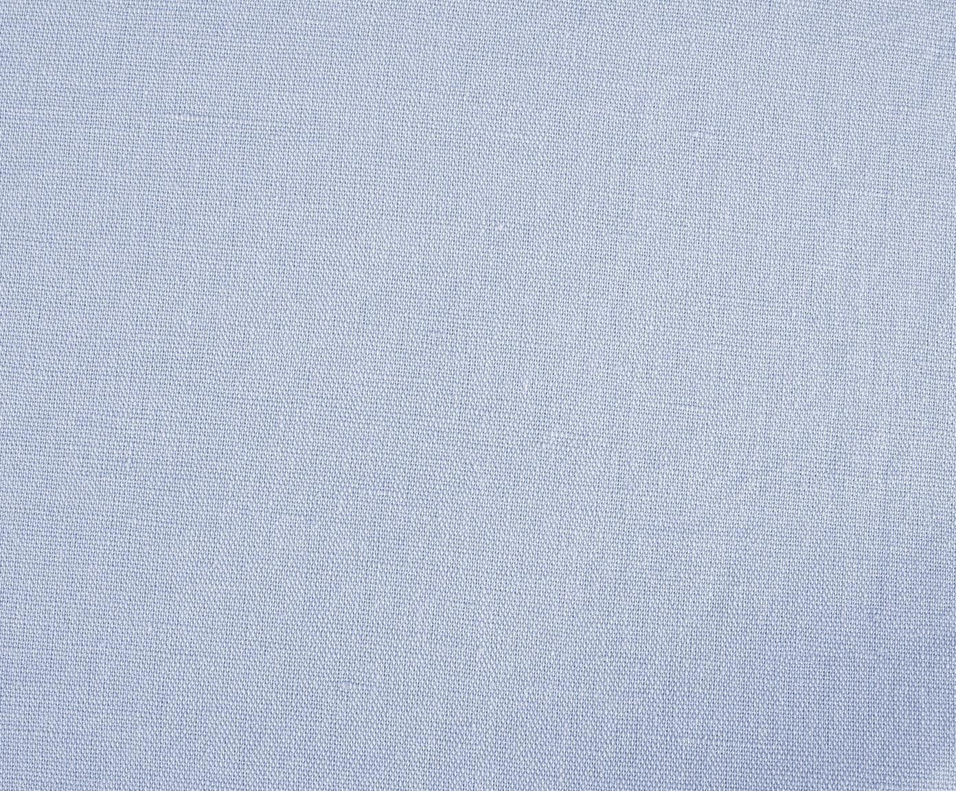 Pościel z lnu z efektem sprania Nature, Jasny niebieski, 155 x 220 cm