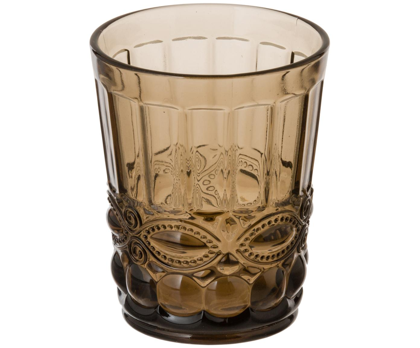 Komplet szklanek do wody Nobilis, 6 elem., Szkło, Wielobarwny, Ø 8 x W 10 cm
