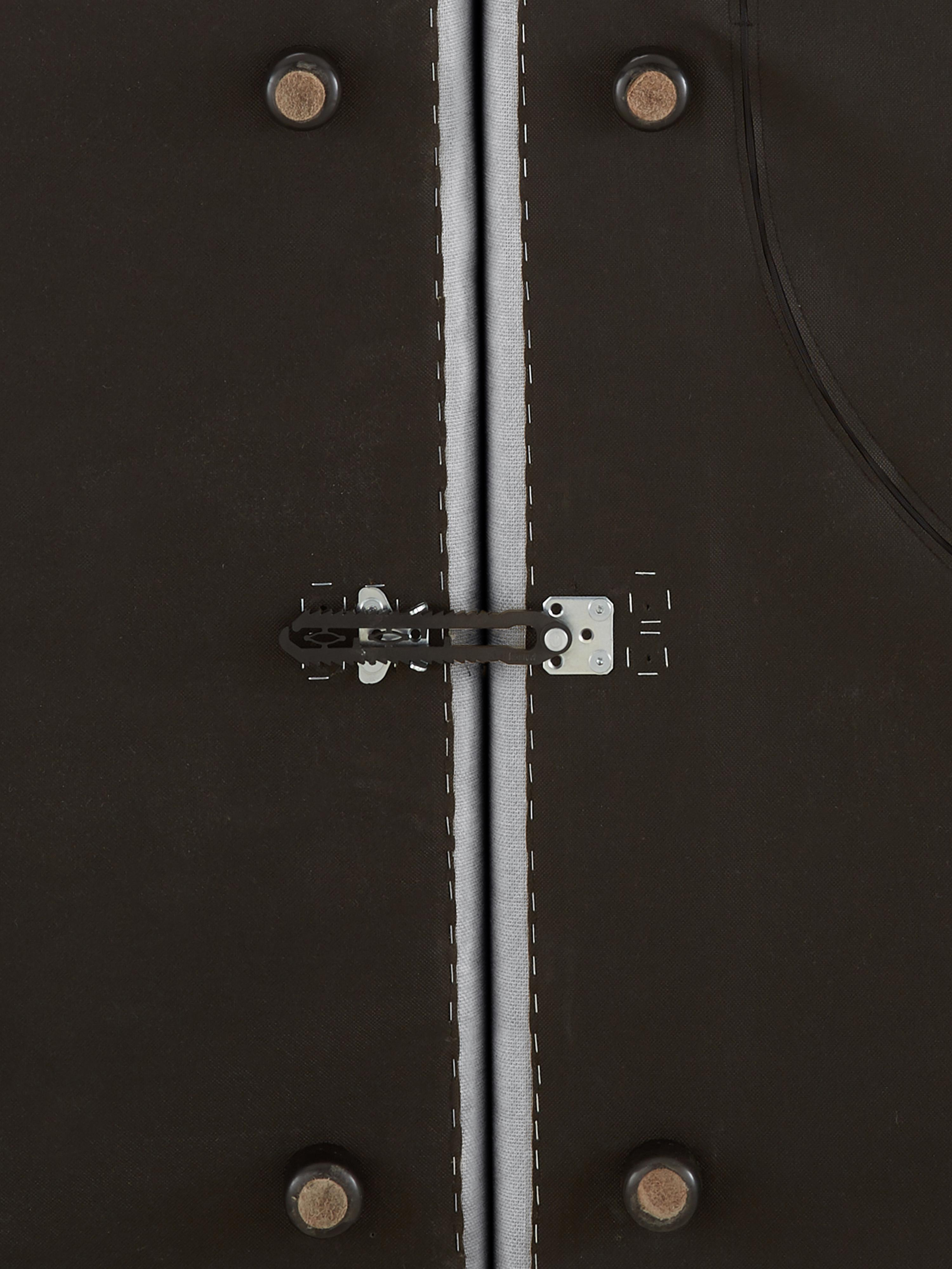 Modulares Ecksofa Lennon, Bezug: Polyester Der hochwertige, Gestell: Massives Kiefernholz, Spe, Webstoff Hellgrau, B 326 x T 207 cm