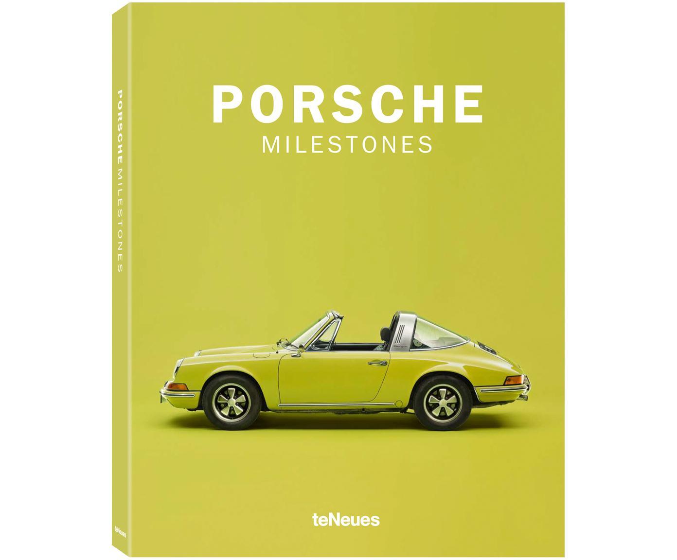 Bildband Porsche Milestones Vol. 2, Papier, Hardcover, Mehrfarbig, 25 x 32 cm