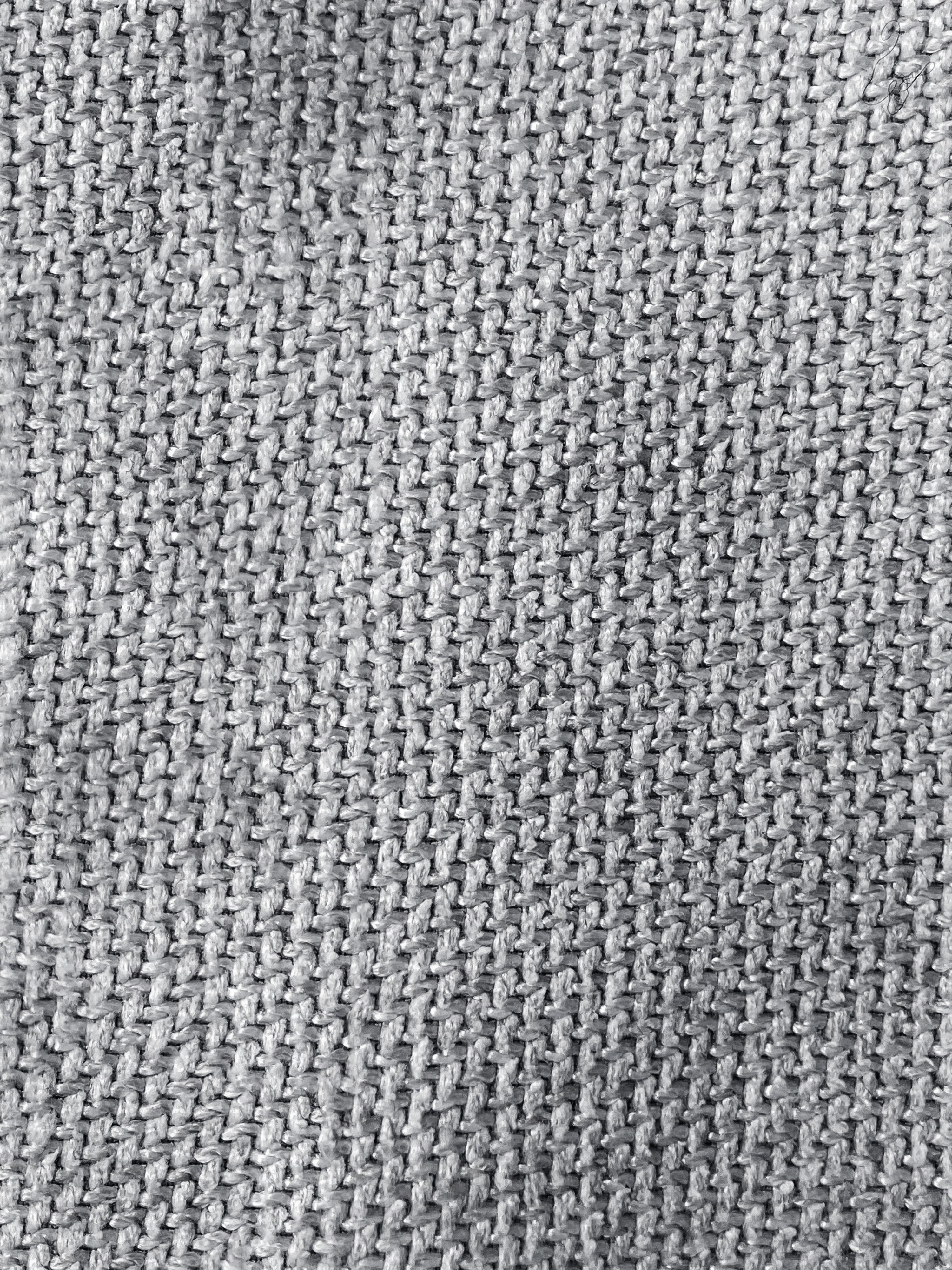 Puf Lennon, Tapicerka: poliester 35 000 cykli w , Stelaż: lite drewno sosnowe, skle, Nogi: tworzywo sztuczne, Jasny szary, S 88 x W 43 cm