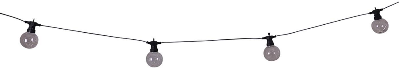LED lichtslinger Crackle Chain, 750 cm, Kunststof, Transparant, L 750 cm