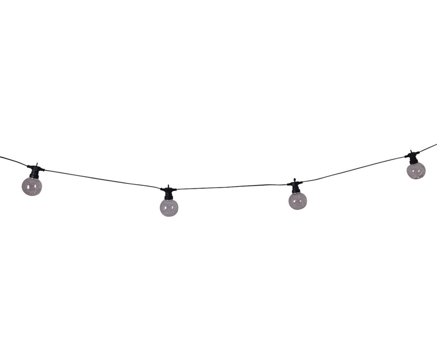 LED lichtslinger Crackle Chain, Kunststof, Transparant, L 750 cm
