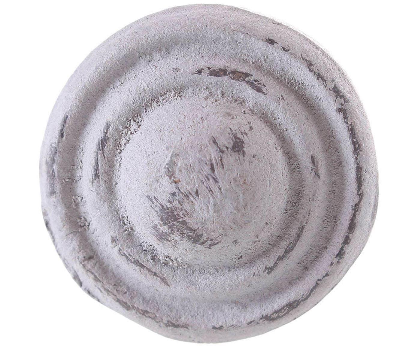 Tirador Antique, Cerámica, metal, Gris, Ø 3 cm