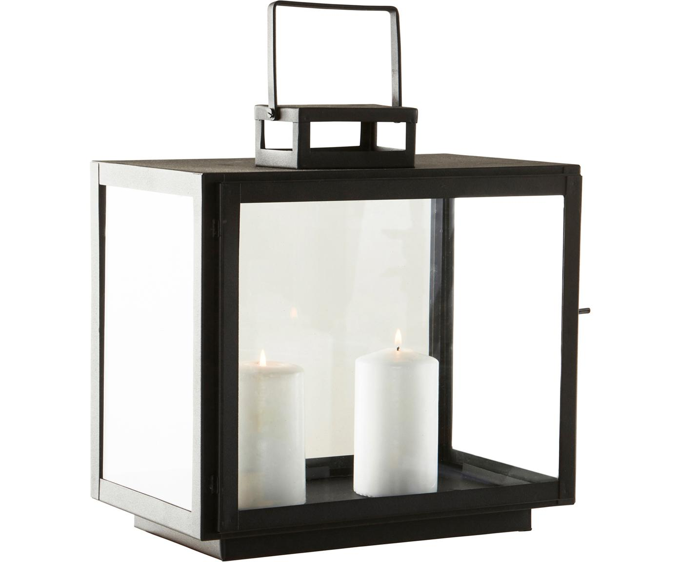 Lanterna Lacie, Struttura: metallo rivestito, Nero, Larg. 32 x Alt. 33 cm