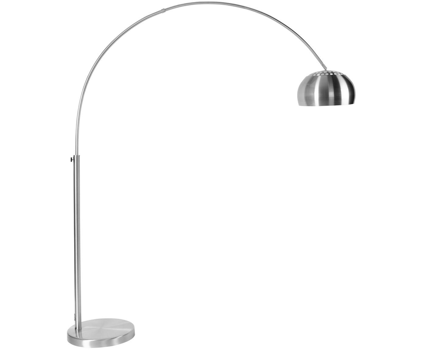 Bogenlampe Metal Bow, höhenverstellbar, Metall, 170 x 205 cm