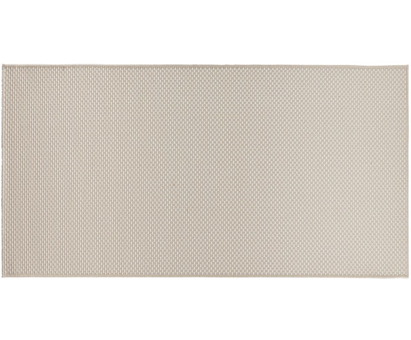 In- & outdoor vloerkleed Nature, Polypropyleen, Ivoorkleurig, B 80 x L 150 cm (maat XS)