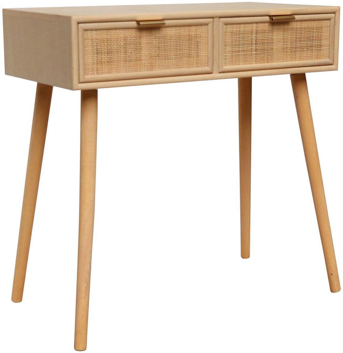 Escritorio Cayetana, Estructura: madera, Beige, An 80 x Al 79 cm