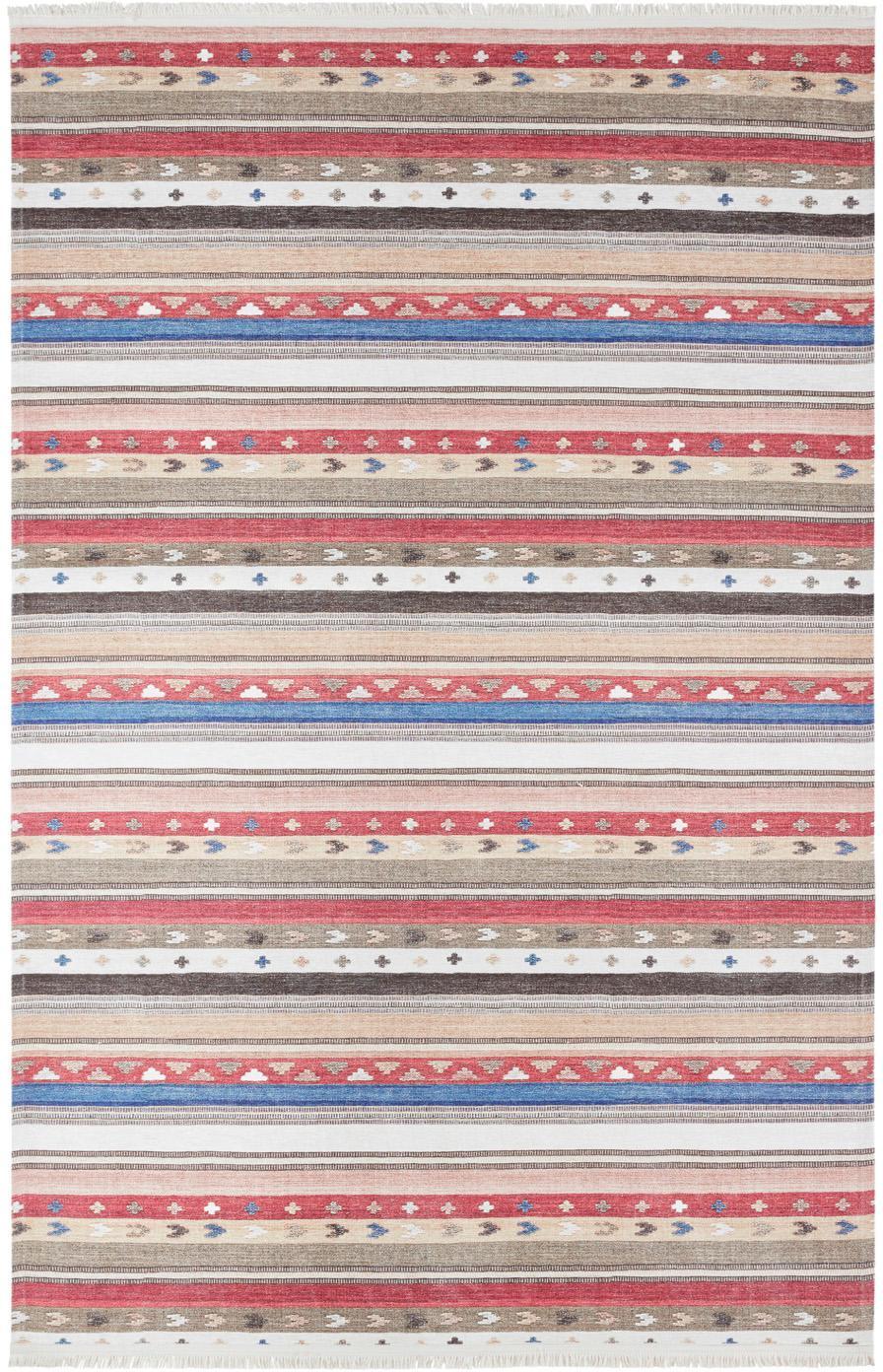 Teppich Senon im Orientstyle, Flor: 50%Polyester, 50%Baumwo, Mehrfarbig, B 180 x L 280 cm (Grösse M)