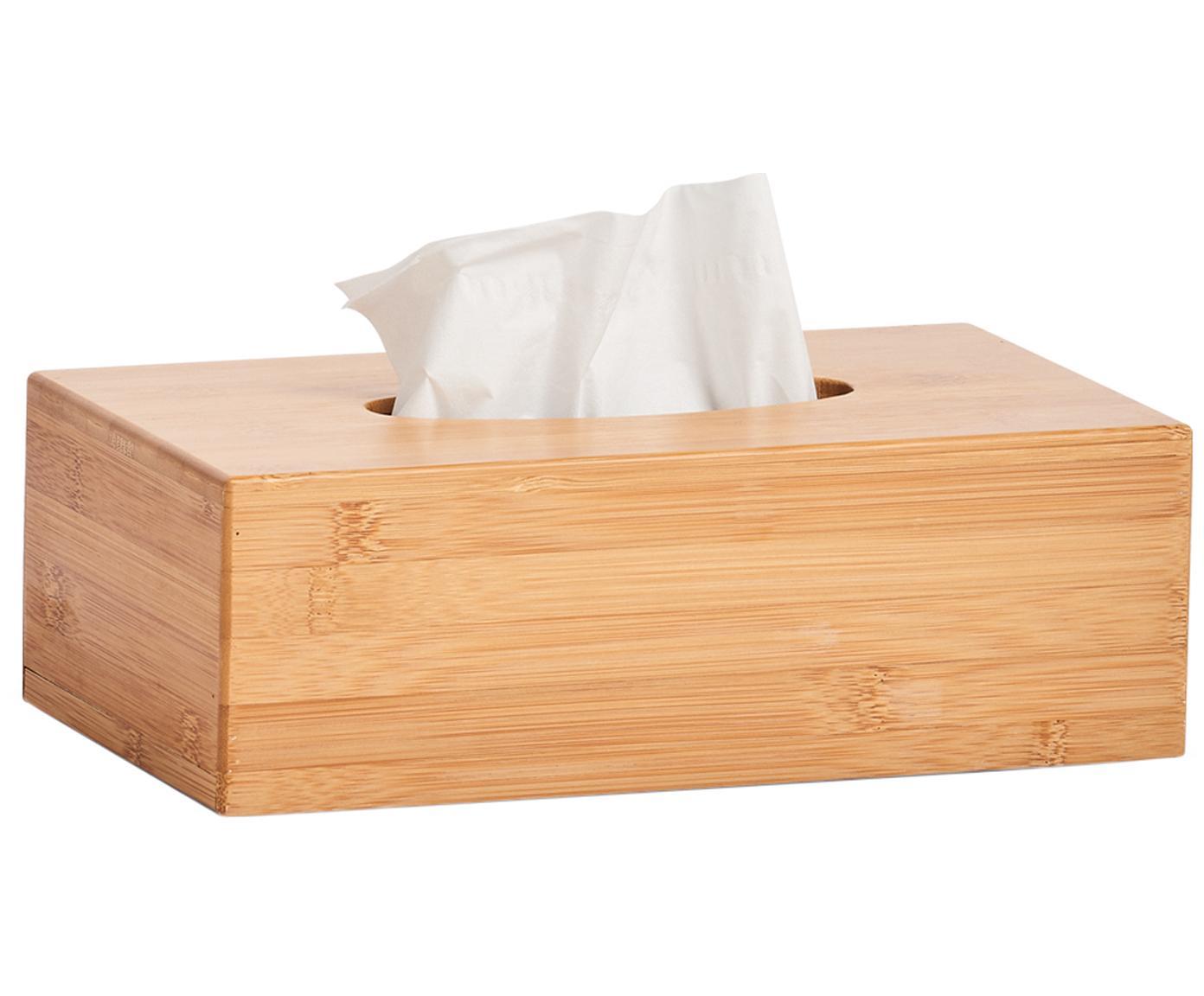 Pudełko na chusteczki z drewna bambusowego Bamboo, Drewno bambusowe, Drewno bambusowe, S 28 x W 9 cm