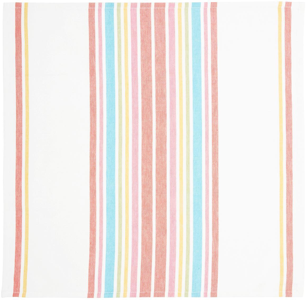Katoenen servetten Katie, 2 stuks, Katoen, Multicolour, 50 x 50 cm