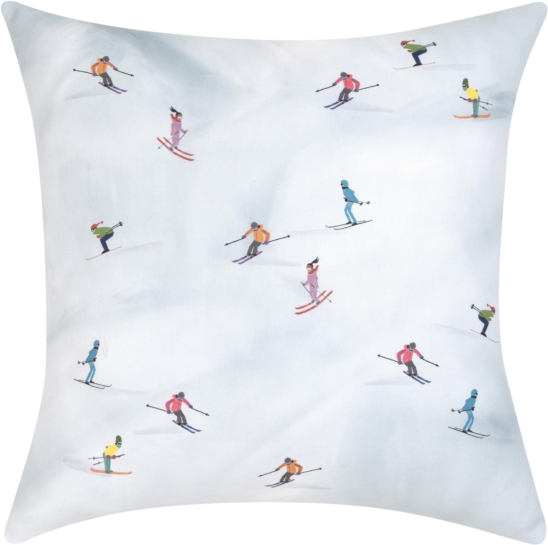 Funda de cojín Ski diseño Kera Till, 100%algodón, Multicolor, An 40 x L 40 cm