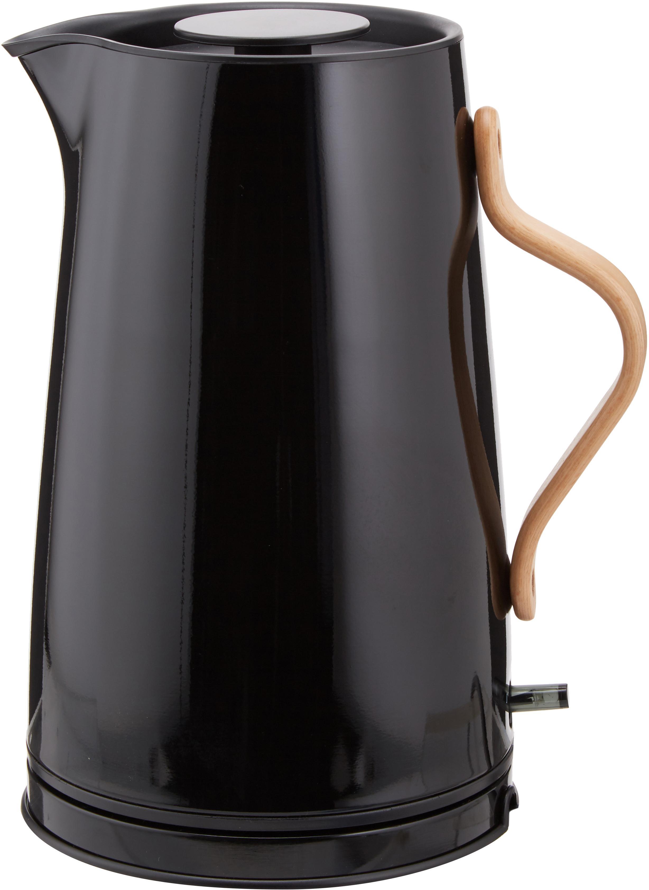 Waterkoker Emma, Zwart, 1.2 L